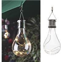 Gerson Everlasting Glow Edison Bulb Solar Light