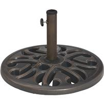 Outdoor Expressions 20 In. Round Umbrella Base