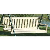 Jack Post Jennings Traditional Patio Porch Swing Seat