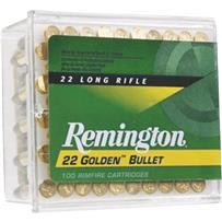 Remington Golden Bullet Rimfire Ammunition Cartridges