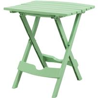 Adams Quik-Fold Rectangle Side Table