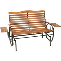 Jack Post Country Garden Hi-Back Glider With Tray