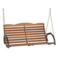 Jack Post Country Garden Hi-Back Porch Swing Seat With Chains