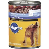 Pedigree Puppy Meaty Ground Dinner Dog Food