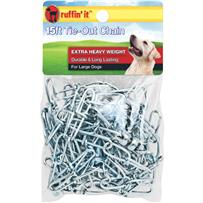Extra Heavy-Duty Dog Tie-Out And Runner Chain