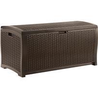 Suncast Resin Wicker Deck Box