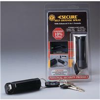 Secure Self-Defense Spray Key Ring Unit