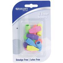 12-Pack Cap Eraser