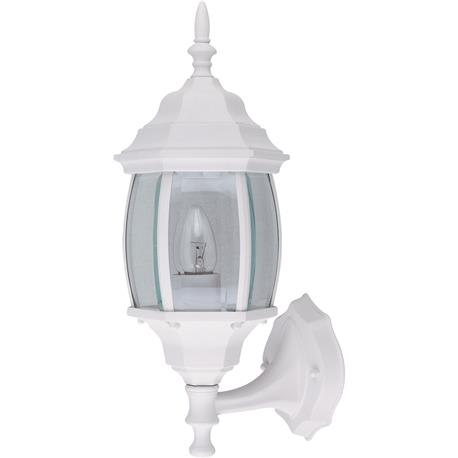 Home Impressions 100W Incandescent Black Lantern Outdoor Wall Light Fixture