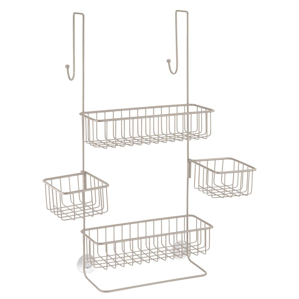 Interdesign 28075 Metalo Over Door Shower Caddy 689743229123 | eBay
