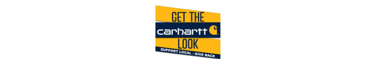 Carhartt Get the Look: Support Local, Give Back