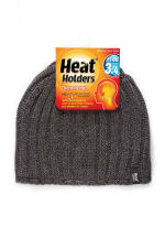 GRABBER MHHH910GRY MENS HEAT HOLDERS HAT LIGHT GRAY