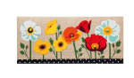 EVERGREEN 431175 PAINTED POPPIES DECORATIVE FLOOR MAT INSERT