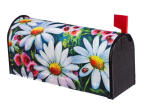 EVERGREEN 56610 BIG DAISIES MAGNETIC MAILBOX COVER