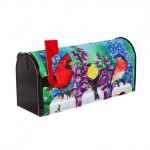 EVERGREEN 56650 BIRDS ON FENCE MAILBOX COVER
