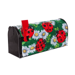 EVERGREEN 56656 LADYBUGS ON GREEN MAILBOX COVER