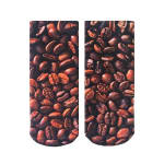 LIVING ROYAL 7122A COFFEE BEANS ANKLE SOCKS