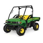 JOHN DEERE  HPX 4x4 Diesel Traditional Utility Vehicle