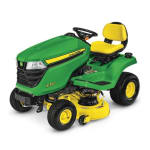 JOHN DEERE  X350 Lawn Tractor with 42-inch Deck