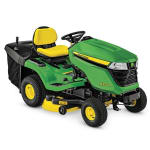 JOHN DEERE  X350R Lawn Tractor with 42-inch Rear-Discharge Deck