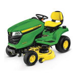 JOHN DEERE  X370 Lawn Tractor with 42-inch Deck
