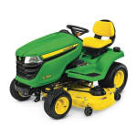 JOHN DEERE  X380 Lawn Tractor with 48-in. Deck