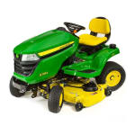 JOHN DEERE  X384 Lawn Tractor with 48-inch Deck