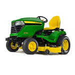 JOHN DEERE  X584 Lawn Tractor with 48- or 54-in. Deck