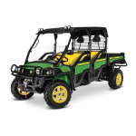 JOHN DEERE  XUV855D S4 Crossover Utility Vehicle