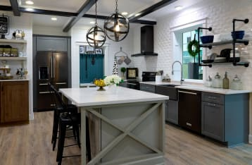 remodeled kitchen in Hartville Hardware's Idea House