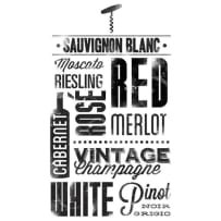 YORK WALLCOVERINGS RMK2649SCS WINE LOVERS PEEL AND STICK WALL DECALS BLACK