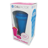 CHILL FACTOR CF800371 SQUEEZE CUP SLUSHY MAKER - COLOUR BLAST