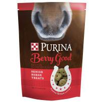 PURINA FEED 3003257-746 3LB SENIOR HORSE RASPBERRY TREATS