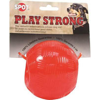 ETHICAL PETS 689882 PLAY STRONG RUBBER CHEW RED LARGE