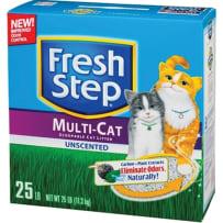 BCI 377555 FRESH STEP MULTI-CAT LITTER
