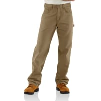 CARHARTT FRB159-GKH 35X34 FR CANVAS PANTS