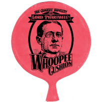 HOUSE OF MARBLES 222009 WHOOPEE CUSHION