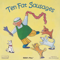 HOUSE OF MARBLES 390133 TEN FAT SAUSAGES MINI BOOK