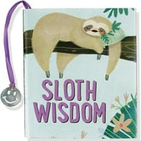 PETER PAUPER PRESS 9401 SLOTH WISDOM MINI BOOK