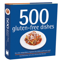 RSVP BTC663 500 GLUTEN FREE DISHES COOKBOOK