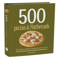 RSVP BTC522 500 PIZZAS AND FLATBREADS COOKBOOK