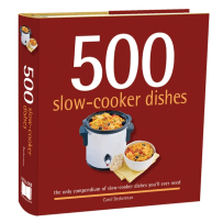 RSVP BTC662 500 SLOW COOKER DISHES COOKBOOK