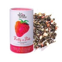 GIFTCRAFT 985069 FOR TEA'S SAKE PRETTY IN PINK ICED TEA BLEND