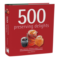 RSVP BTM4526 500 PRESERVING DELIGHTS COOKBOOK
