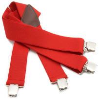 CARHARTT 45002-RED ELASTIC UTILITY SUSPENDERS RED