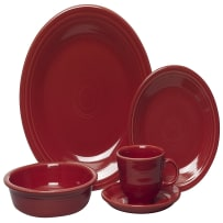 HOMER LAUGHLIN FIESTA 0830-0326 5-PIECE PLACE SETTING SCARLET