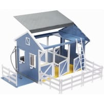 BREYER  699 CLASSICS COUNTRY STABLE WITH WASH STALL