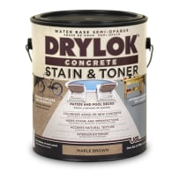 UNITED GILSONITE 24313 DRYLOK CONCRETE STAIN AND TONER GAL BROWN