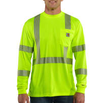 CARHARTT 100496-323 2XL/T FORCE HIGH VISIBILITY LONG SLEEVE