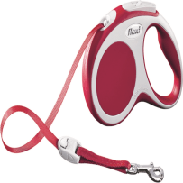 BCI 860624 SML RED VARIO TAPE LEASH